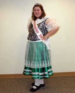2012 Czech Heritage Foundation Princess Kelsey Pokorny of Elberon. Czech heritage is still alive in Elberon!