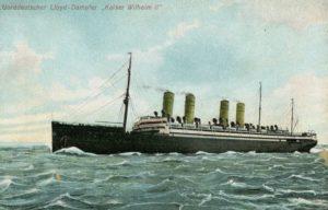 1951 Kaiser Wilhelm II ship