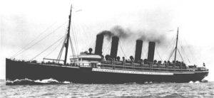 1951 Kaiser Wilhelm der grosse ship