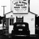 1951 Los Alamos Main Gate