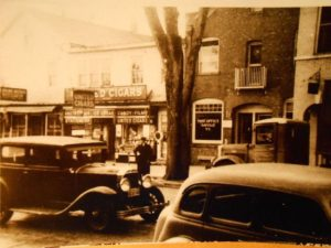 1951 Sayville downtown